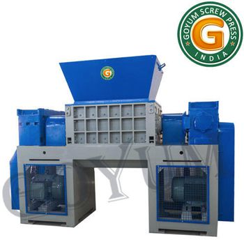 twin shaft industrial shredder manufacturers